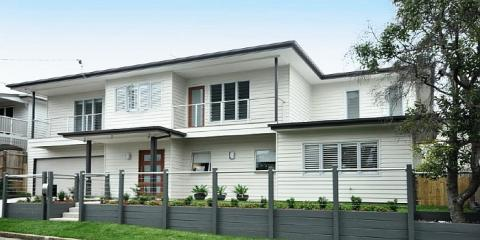 Contemporary custom-designed new house in Clayfield Brisbane by Building Designer Design 2B