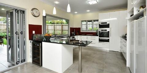 Spacious modern kitchen in Clayfield Brisbane by Building Designer Design 2B