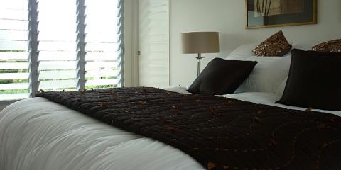 Contemporary bedroom in Clayfield Brisbane by Building Designer Design 2B