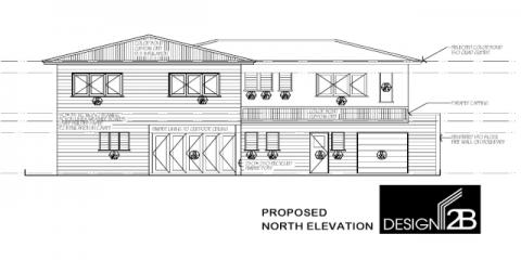 Rear Elevation in Clayfield Brisbane by Building Designer Design 2B