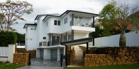 Street View of art deco home in Hamilton Brisbane by building designer Design 2B
