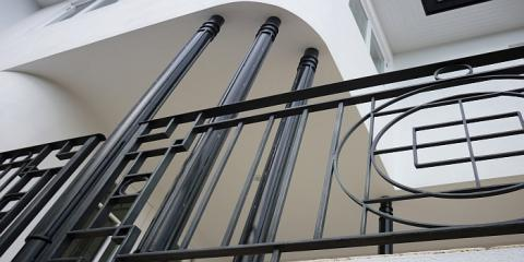 Custom designed handrail Hamilton Brisbane by & building designer 2B Design