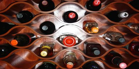 Fantastic wine rack design in Hamilton Brisbane by building designer Design 2B